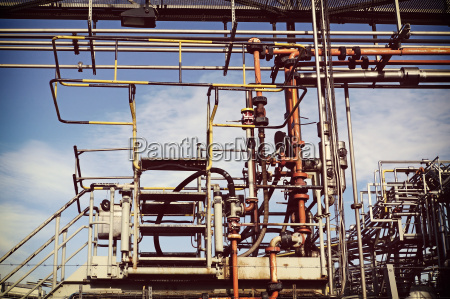 industrie industrieanlage wolke deutschland brd bundesrepublik