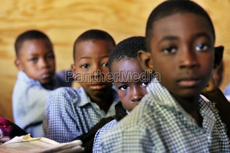 haiti leogane boys at school