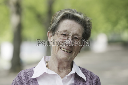 germany cologne portrait of senior woman