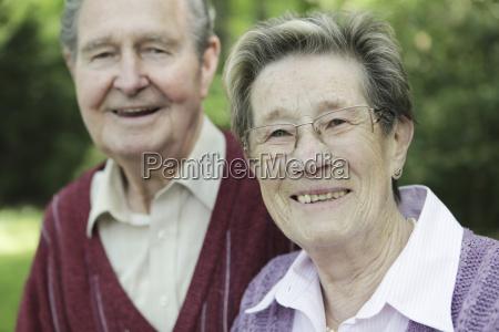 germany cologne portrait of senior couple