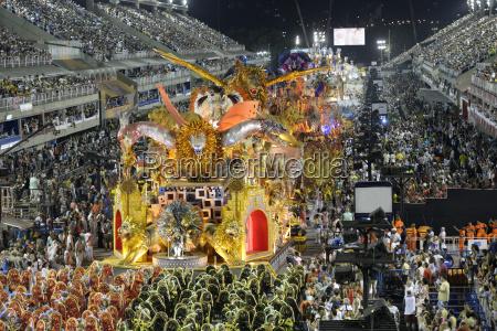 brasilien rio de janeiro karneval schwimmer