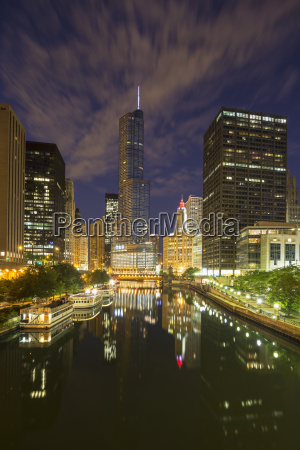 usa illinois chicago high rise buildings