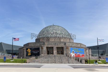 usa illinois chicago adler planetarium