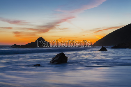 usa california pacific coast national scenic