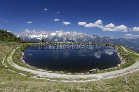 austria styria liezen district lake reiteralm
