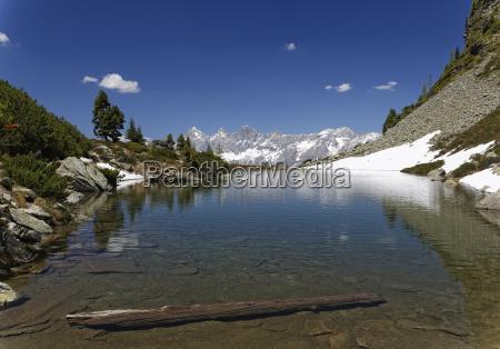 austria styria liezen district lake spiegelsee