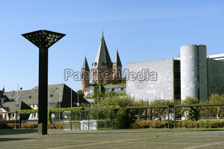 germany rhineland palatinate mainz view of