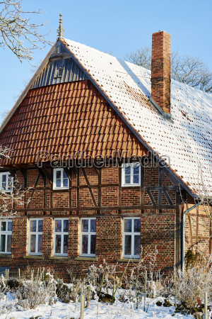 germany north rhine westphalia petershagen traditional