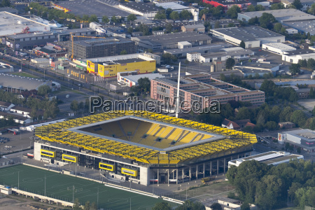 germany aachen aerial view of the