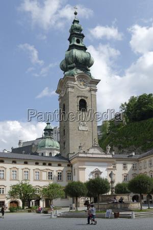 austria salzburg convent church st peter