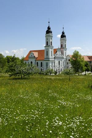 fahrt reisen religion kirche wolke bayern