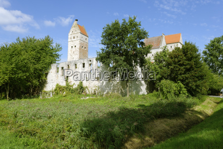 germany bavaria ruins of nassenfels castle