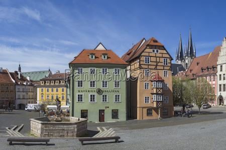 czechia cheb old town view of