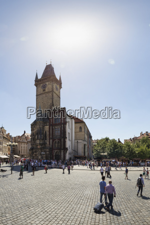 czech republic prague old town square