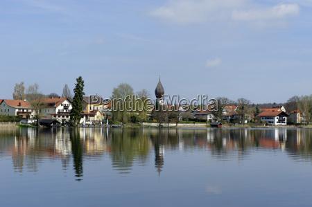 germany upper bavaria wessling wessling lake