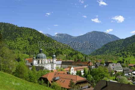 germany upper bavaria benedictine abbey ettal