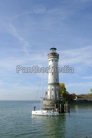 germany bavaria swabia lake constance harbor