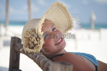 tanzania zanzibar island portrait of girl