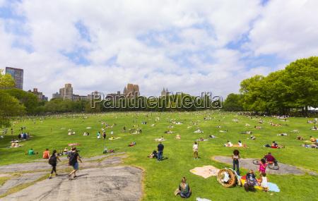 usa new york city manhattan central