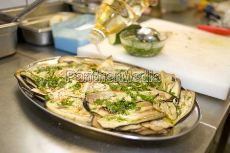 grilled eggplant italian appetizer antipasti