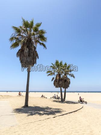 usa california santa monica view to