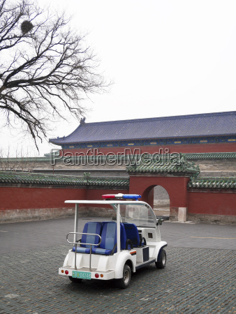 china beijing electric vehicle parking in