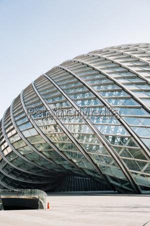 china peking teil der fassade des