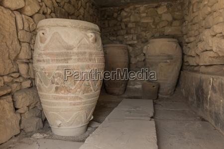 greece crete phaistos ancient vessels