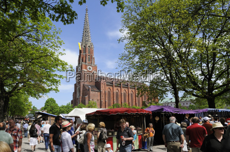 germany bavaria munich maria hilf church