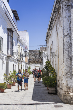 spain andalusia tarifa old town alley