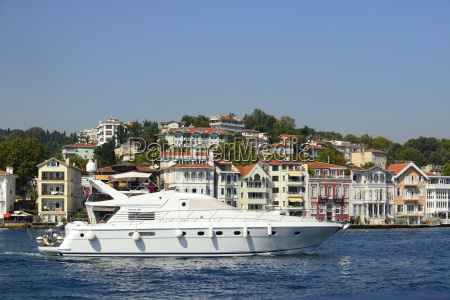 turkey istanbul yacht on bosphorus
