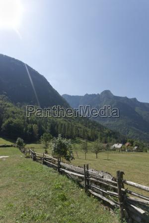 slovenia view of triglav national park