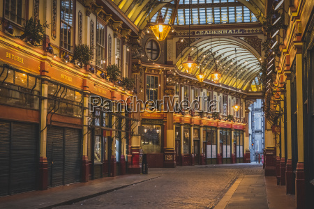 great britain englan london leadenhall market