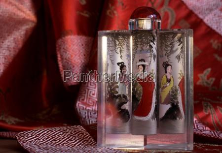 china hongkong handgemaltes glas souvenir