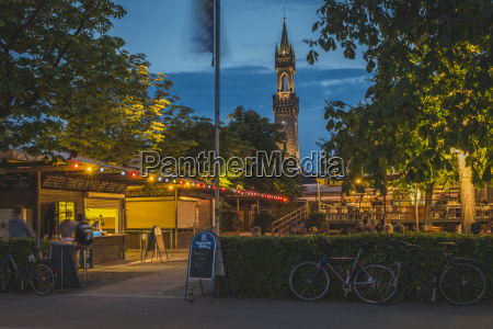 germany constance beer garden at the