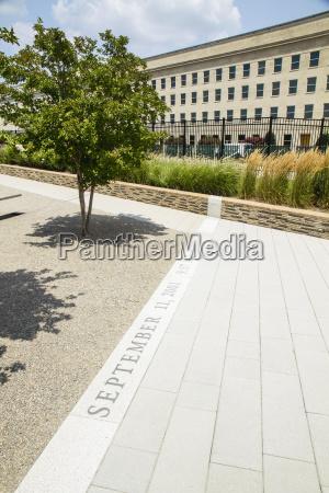 usa virginia view of pentagon memorial