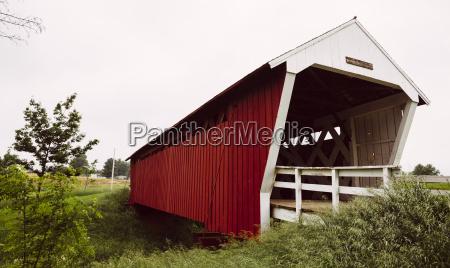usa iowa madison county imes bridge