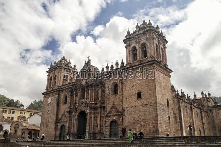 peru cusco basilica catedral