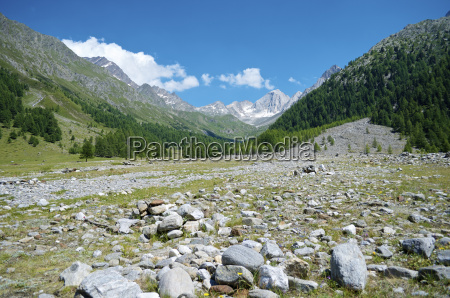 italy alto adige schnals view at