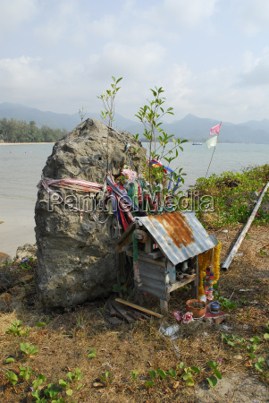 thailand geisterhaus auf chai chet pier