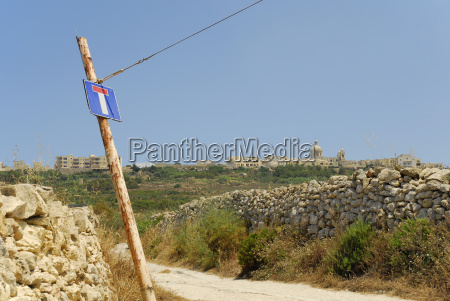 malta view of dead end street