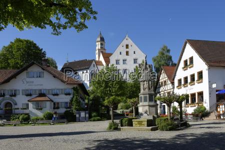 germany bavaria bad groenenbach parish church
