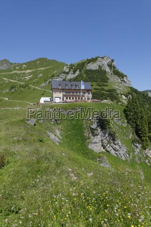 germany upper bavaria mangfall mountains rotwandhaus