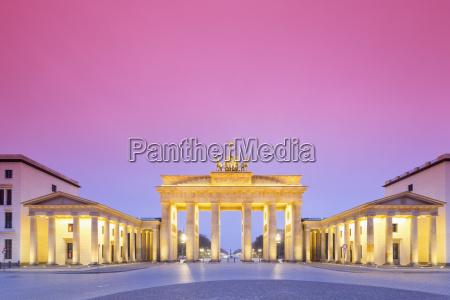 germany berlin brandenburg gate in the