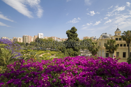 spain andalusia view of ajuntamiento at