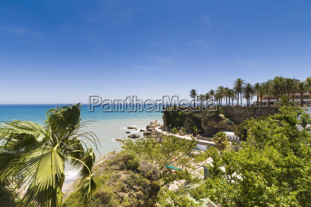spain andalusia view of nerja resort