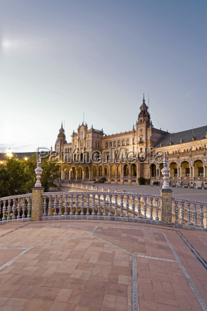 spain andalusia view of plaza de
