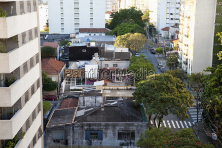 brazil sao paulo view of city