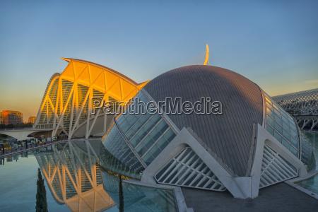 spain valencia view to museo de
