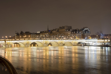 france paris view of pont neuf